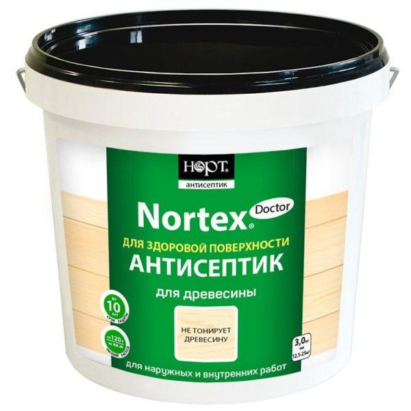 Антисептик Nortex Doctor для древесины