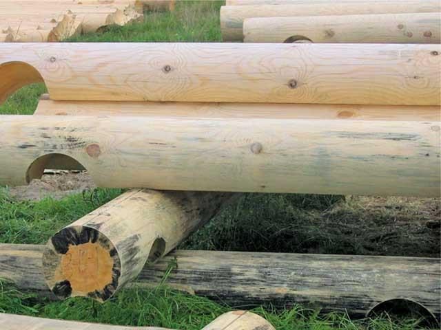 Сагус - это отличный отбеливатель древесины для срубов деревянных домов!