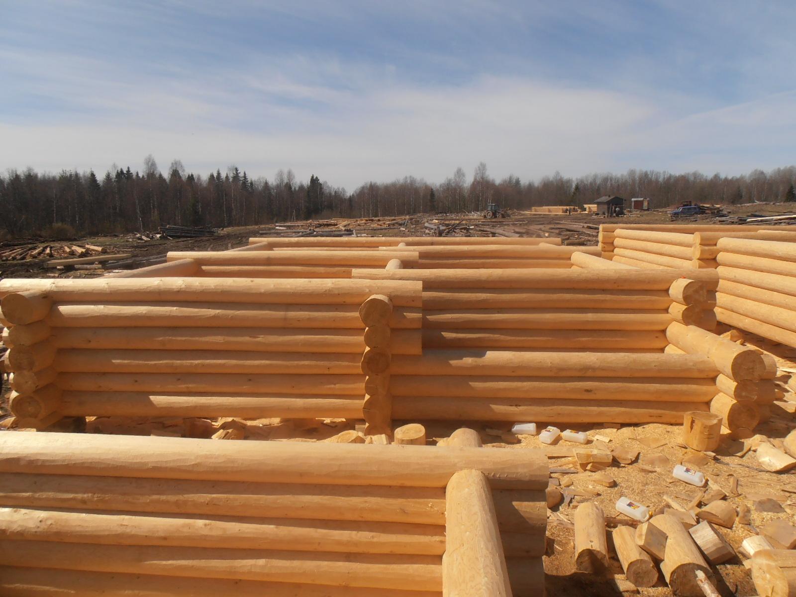 Чем отбелить древесину - бревен